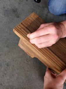 DIY Almost Free Pallet Shelves