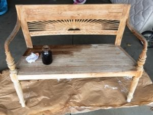 make your own wood stain, steel wool and vinegar