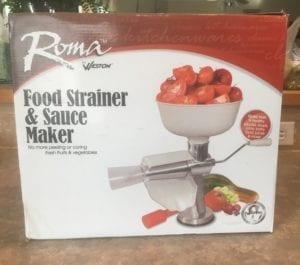 Roma Food Mill