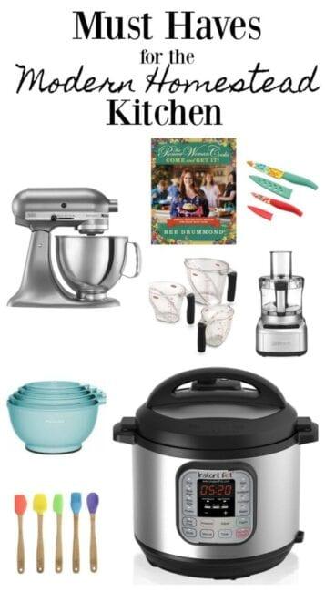 modern homestead kitchen gift guide