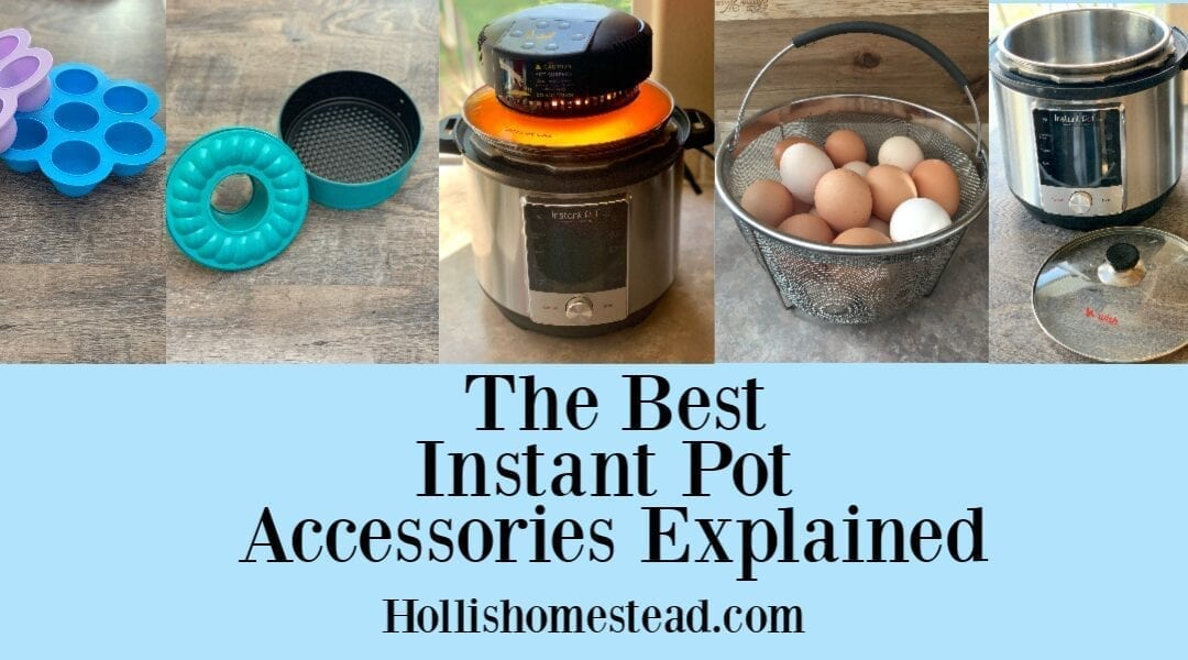 Instant Pot accessories explained