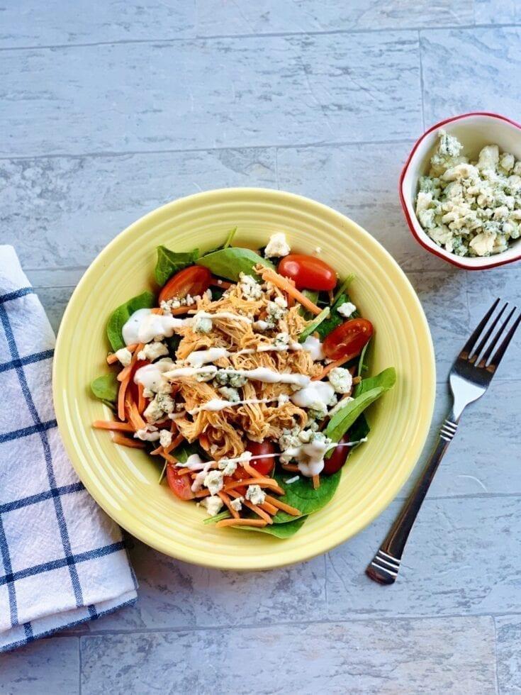 Instant Pot Buffalo Chicken Salad
