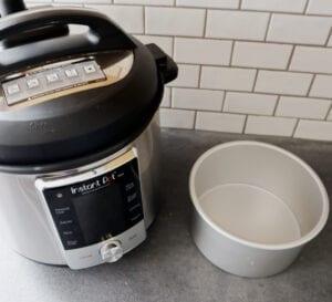 fat daddio aluminum baking pan for pot-in-pot cooking inside instant pot