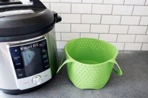 Avokado silicone steamer basket for Instant Pot