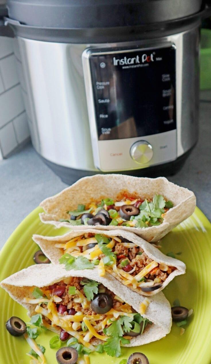 Instant Pot Pita Tacos