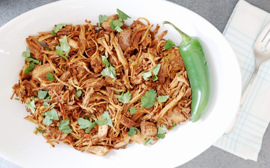 Instant Pot Dr. Pepper Pulled Pork Recipe