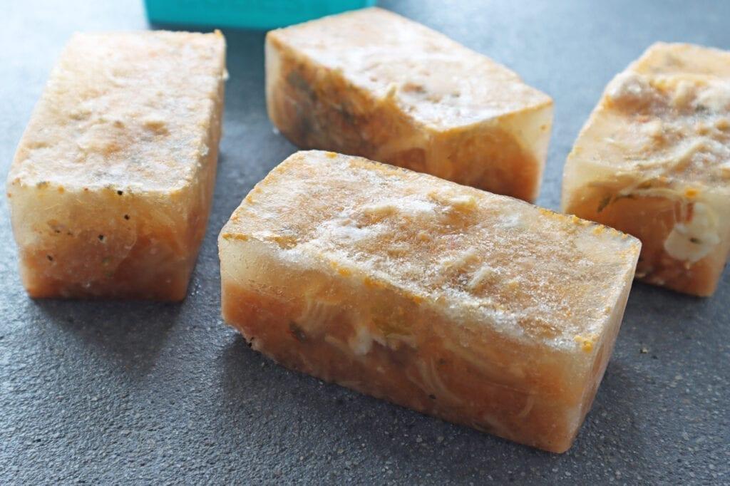 Frozen 1 cup tortilla souper cubes