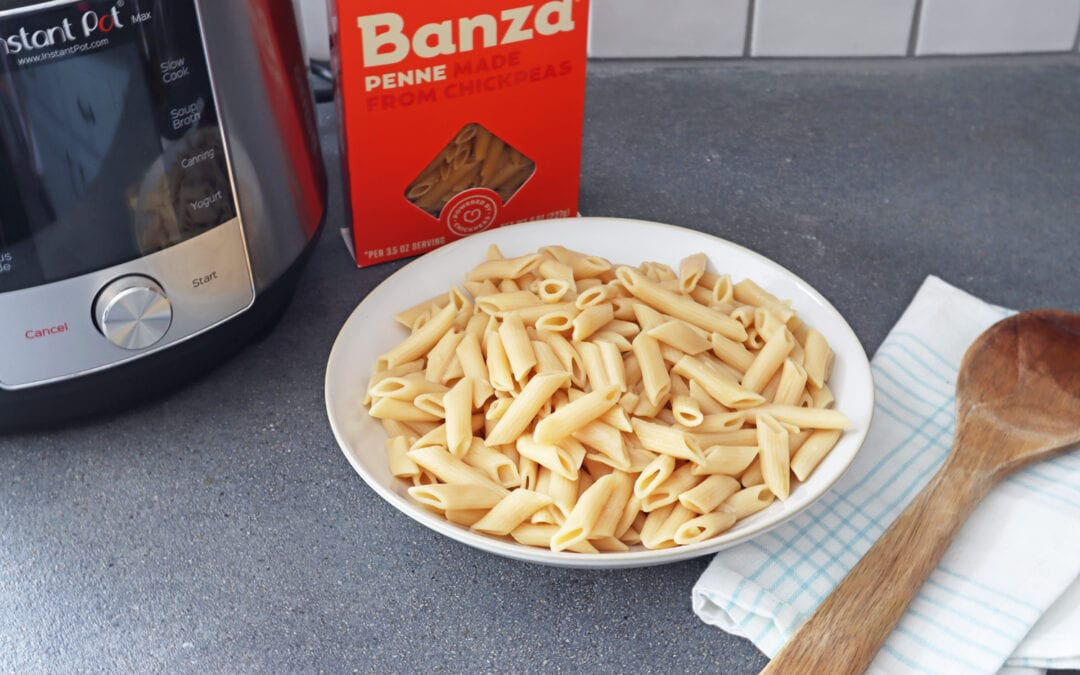 How to Cook Banza Chickepea Pasta in the Instant Pot