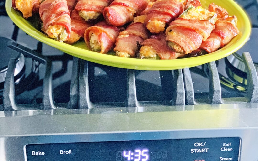 Bacon Wrapped Jalapeno Poppers (with freezer instructions)