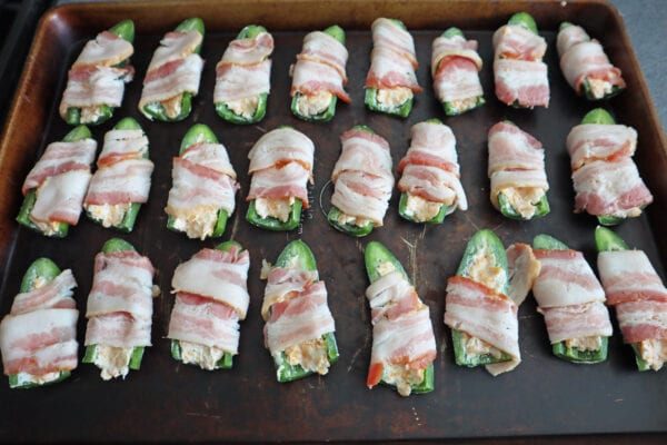 Frigidaire Air Fried Bacon Wrapped jalapeno poppers. Baked, Grilled, smoked