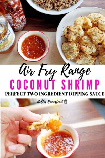 Frigidaire Air Fry Range Coconut Shrimp Recipe Keto gluten free
