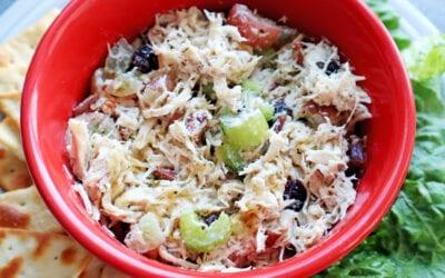 Healthy Instant Pot Chicken Salad